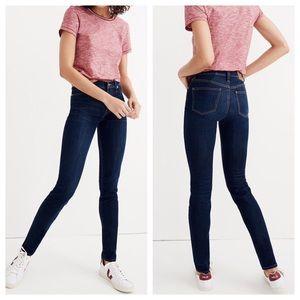 "Madewell 9"" High Rise Skinny Jeans Tencel 23"